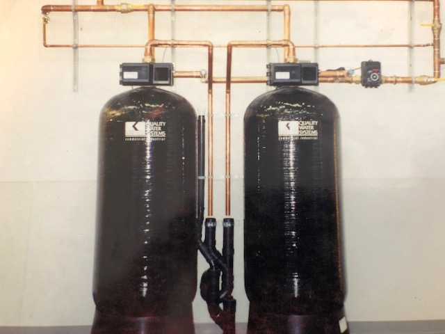 Commercial Backwashing Filtration System