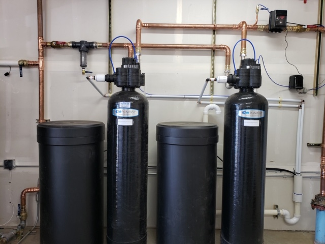 Commercial Water Softening System