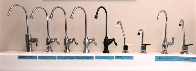 In Store Reverse Osmosis faucets