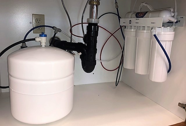 Residential Installed Reverse Osmosis
